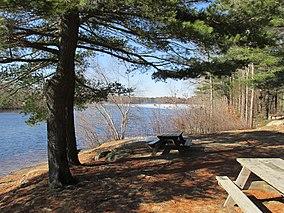 Cleveland Pond, Ames Nowell State Park, Abington MA.jpg