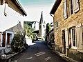 Clocher de l'église, vu de la rue du chapitre.jpg