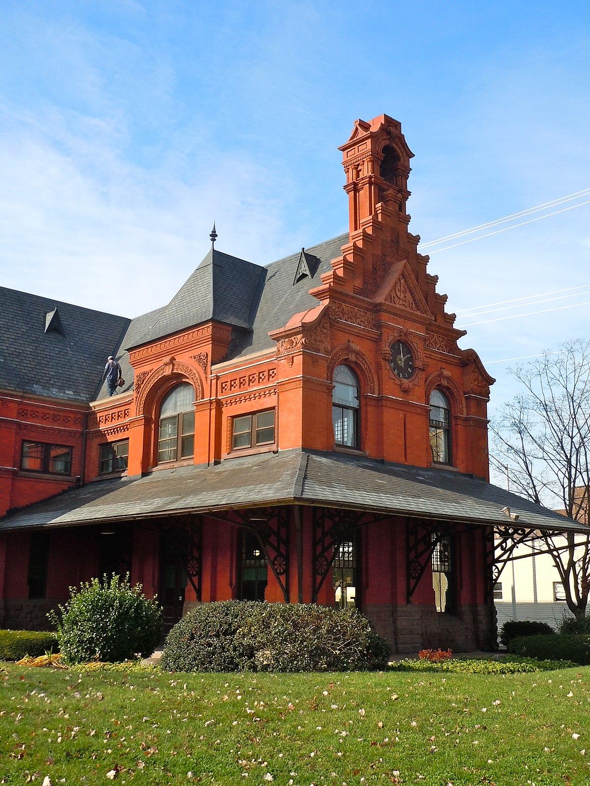 lebanon station  pennsylvania railroad