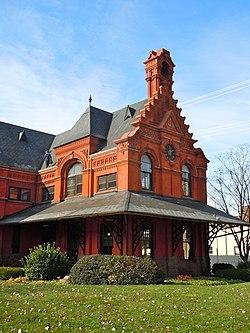Cornwall & Lebanon Railroad Station