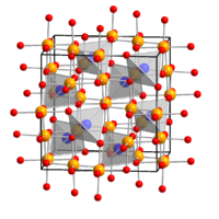 Crystal structure of Thénards Blue
