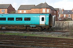 Coach at Chester railway station (26896831745).jpg
