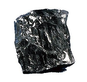 Geology of Pennsylvania - Anthracite coal, a high value rock from eastern Pennsylvania.