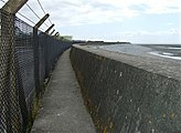 Coastal Path and Tidal Defence Wall - geograph.org.uk - 1366962.jpg