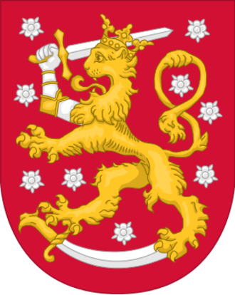 Finland men's national ice hockey team - Image: Coat of Arms of Finland Alternative style