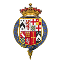 Coat of arms of Henry Mordaunt, 2nd Earl of Peterborough, KG, PC, FRS.png