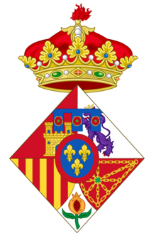 Coat of arms of Infanta Sofia of Spain.png