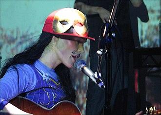 CocoRosie - Sierra performing live in 2005.