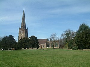 Coleshill, Warwickshire - Church of St Peter and St Paul