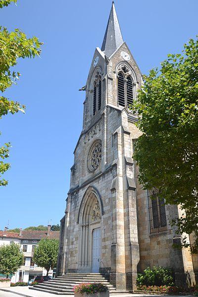 église Saint Martin de Coligny: façade