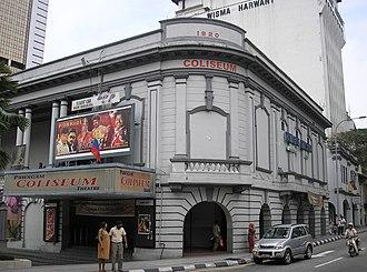 Cinema of Malaysia - Coliseum Theatre (Kuala Lumpur)