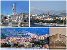 A collage of Messina