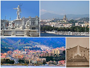 Messina - Image: Collage Messina