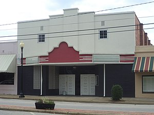 Colquitt, Georgia - Hunter Theatre, formerly Colquitt Theatre, on North First Street