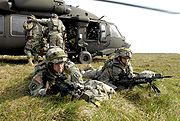 Combat Training in Germany (Securing Ground) 2007-05-11-140634