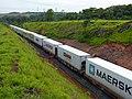 Comboio que passava sentido Boa Vista pelo pátio da Estação Ferroviária de Salto - Variante Boa Vista-Guaianã km 211 - panoramio (1).jpg