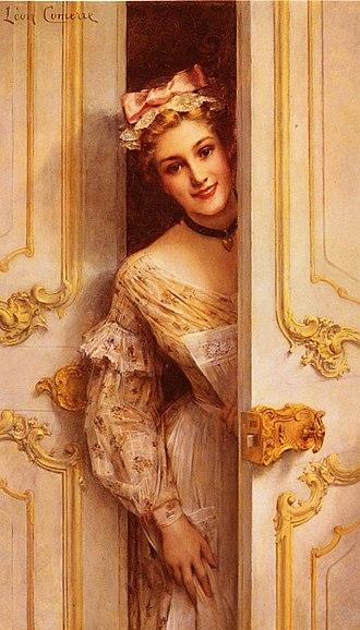 Léon Comerre - Image: Comerre, Leon Francois; The Pretty Maid