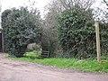 Concealed bridleway - geograph.org.uk - 747983.jpg