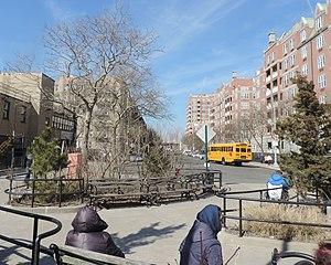 Coney Island Avenue - South end of Coney Island Avenue