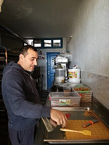 Confectioner of traditional pastry in Mahdia.jpg