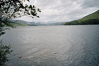 Coniston Water - Image: Coniston Water from Peel Island