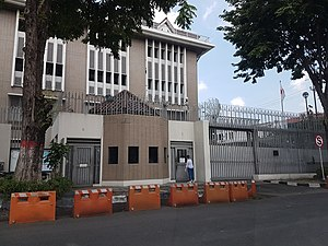 Consulate-General of Japan in Surabaya, photo by Calla Clarissa (2018-04-26).jpg