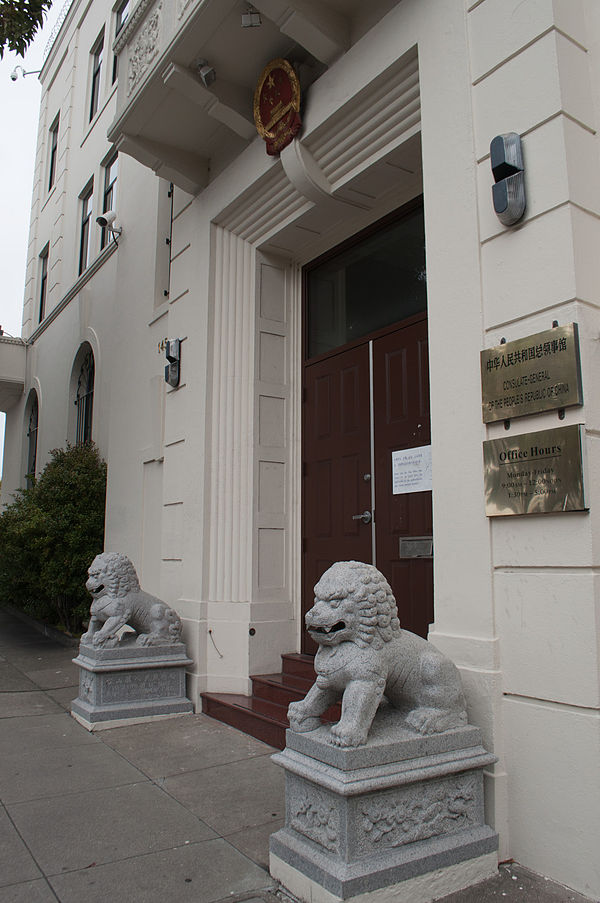 Diplomatic missions in san francisco california for List of consuls