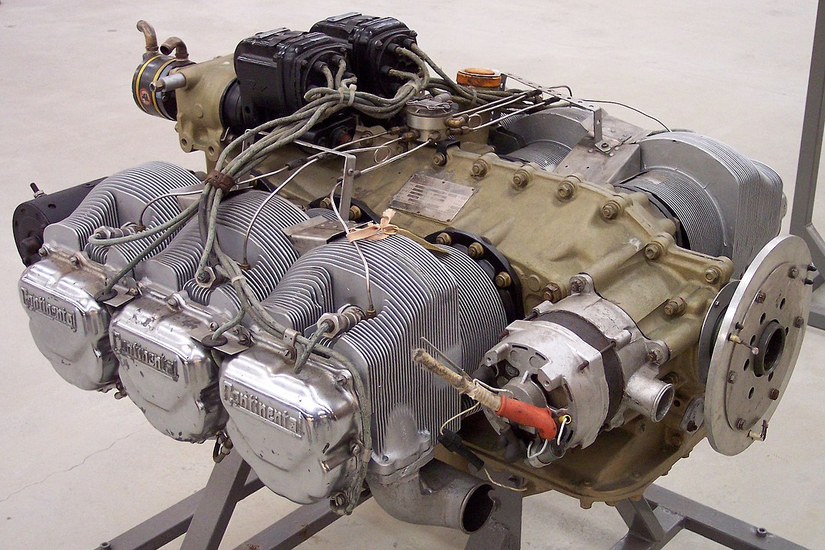 Continental o 520 wikipedia for Aircraft motors for sale