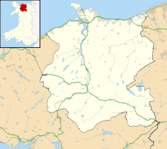 Llanrwst is located in Conwy