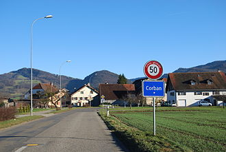 Corban, Switzerland - Corban village