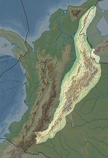 Cordillera Oriental (Colombia) mountain range in Colombia