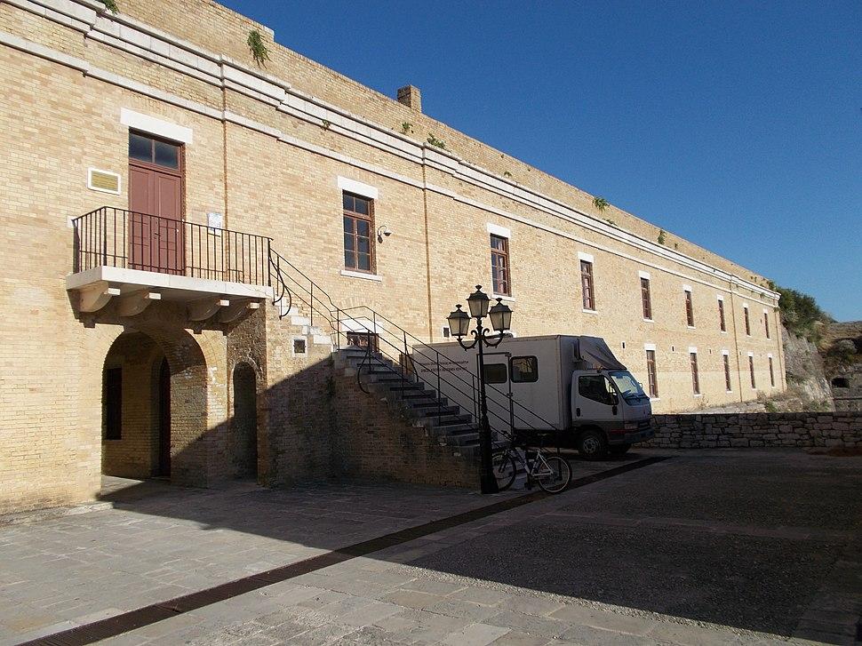 Corfu library at Palaio Frourio