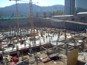 Gran Torre Santiago - Image: Costanera Center en construcción (09 2006)