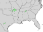 Cotinus obovatus range map 5.png