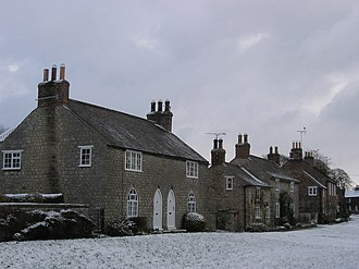 Langton, North Yorkshire - Image: Cottages, Langton
