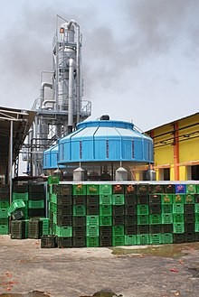 induced draft counterflow cooling towers