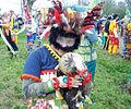 Courir de Mardi Gras Savoy, La 2011 Chicken.jpg