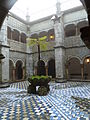 Courtyard of Palácio Nacional da Pena P1000455.JPG