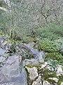 Cova Velha that feeds the waterfall of Fórnea.jpg