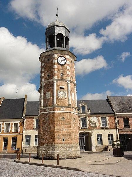 Crécy-sur-Serre (Aisne) beffroi