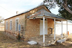 National Register of Historic Places listings in Gillespie County, Texas - Image: Crabappleschool 1
