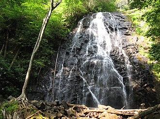 Crabtree Falls (North Carolina) - Image: Crabtree Falls 7