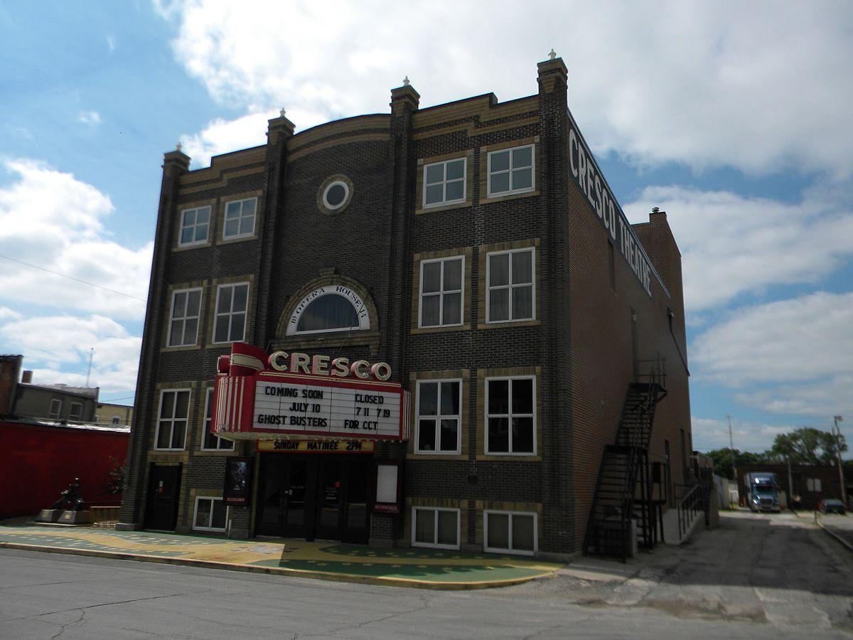 Px Cresco Opera House Nrhp Howard County C Ia on Family House 1900