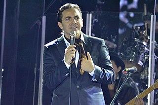 Cristian Castro Mexican pop singer