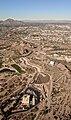 Cross Cut Canal dam and forebay aerial.jpg