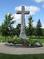 Cross to the memory of Arthur Currie