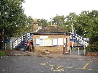 Crowhurst railway station - The station in 2007