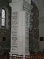 Cubjac église mémorial.JPG