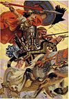 Le héros légendaire Cúchulainn