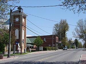 Cumberland, Ontario - Cumberland village
